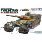 35236 Type 90 Tank w/Mine Roller