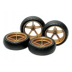 TA 15368 Large Dia. Narrow Lightweight Wheels (w/Arched Tires)