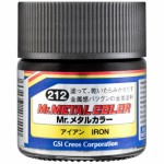 Mr.Hobby MC-212 Mr.Metal Color - Iron