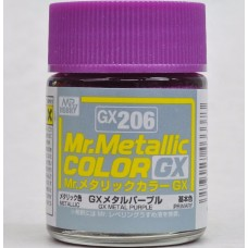 Mr.Metallic Color GX-206 Metal Purple