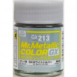 MR.HOBBY GX-213 METAL WHITE SILVER