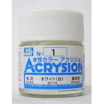MR.ACRYSION COLOR N-01 WHITE