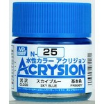 MR.ACRYSION COLOR N-25 SKY BLUE