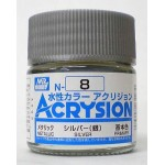 MR.ACRYSION COLOR N-08 SILVER