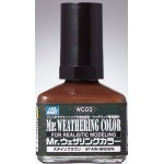MR.HOBBY WC-03 WEATHERING STAIN BROWN