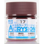 MR.ACRYSION COLOR N-17 HULL RED