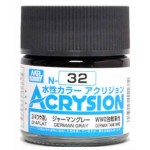 MR.ACRYSION COLOR N-32 GERMAN GRAY