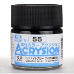 MR.ACRYSION COLOR N-55 MIDNIGHT BLUE