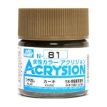 MR.ACRYSION COLOR N-81 KHAKI