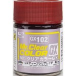 MR.CLEAR COLOR GX-102 DEEP CLEAR RED