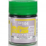 MR.CLEAR COLOR GX-104 CLEAR GREEN