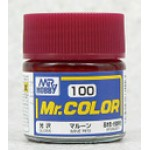 Mr.Color 100 Wine Red