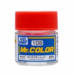 Mr.Color 108 Cheracter Red