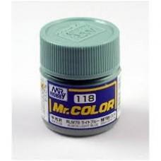 Mr.Color 118 RLM78 LIGHT BLUE