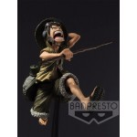 One Piece SCULTURES LUFFY FIGURE-ARMY COLOR VER