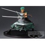 "ONE PIECE SCULTURES RORONOA ZORO FIGURE ""SHINING COLOR VER."