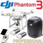 Phantom 3 Professional Extra Battery and hardShell Backpack