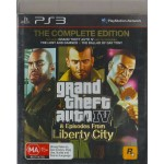 PS3: Grand Theft Auto IV The Complete Edition (Z4)