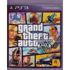 PS3: Grand Theft Auto V (GTA 5)[Z3]