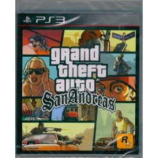 PS3: GRAND THEFT AUTO SANANDREAS (R3)(EN)