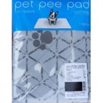 Pet pee pad แผ่นรองซับฉี่สุนัข แบบซักได้ Size L ขนาดกว้าง 50 cm. ยาว 70 cm.