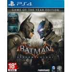 PS4: BATMAN ARKHAM KNIGHT GAME OF THE YEAR EDITION (Z3)(EN)