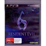 PS3: Resident Evil  6