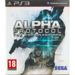 PS3: Alpha Protocol The Espionage RPG (Z2)