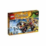 LEGO CHIMA 70135 LOC CRAGGER'S FIRE STRIKER