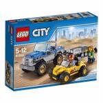LEGO CITY 60082 DUNE BUGGY TRAILER