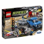 LEGO Speed Champions 75875 FORD F-150 RAPTOR & A HOT ROD