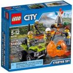 LEGO City Volcano Explorers 60120 Volcano Starter Set