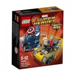 LEGO Super Heroes 76065 MIGHTYMICROS CAPTAINAMERICAVSRED