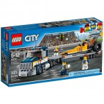 LEGO City Great Vehicles 60151 Dragster Transporter