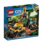LEGO City In/Out 2017 60159 Jungle Halftrack Mission