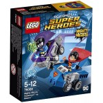 LEGO Super Heroes 76068 Mighty Micros: Superman vs. Bizarro Instructions