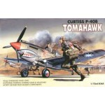 AC 12456 (1655) TOMAHAWK CURTISS P-40B 1/72