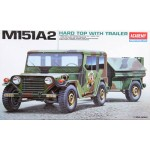 AC 13012 M151-A2 HARD TOP WITH TRAILER 1/35