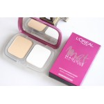 L'OREAL PARIS MAT MAGIQUE ALL-IN-ONE COMPACT POWDER SPF34 PA+++ R1 Rose Ivory