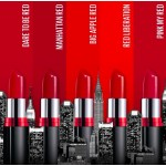 MAYBELLINE COLOR SHOW CREAMY MATTE  207 manhattan red