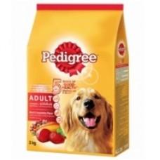 Pedigree ชนิดเม็ด รสเนื้อวัวและผัก 500 g สำหรับสุนัขโตเต็มวัย