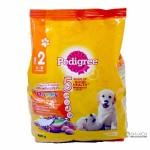 Pedigree ชนิดเม็ด รสไก่ ไข่และนม สำหรับลูกสุนัข 3-18 เดือน 480 g
