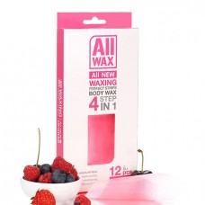 All Wax Waxing Perfect Strips #Pink 12 pcs