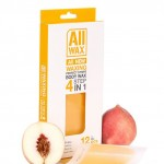 All Wax Waxing Perfect Strips #Peach 12 pcs