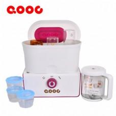 QOOC เครื่องนึ่งและปั่นอาหารทารก 5in1 รุ่น Q3-2
