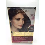 L'Oreal Paris Excellence Creme Advanced Tripple Care 5.15 Frosted Light Brown สีน้ำตาลอ่อนเหลือบมะฮอกกานี