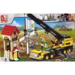 Sluban 0553 Crane Truck 767PCS