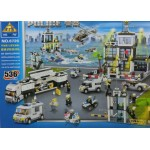 Kazi 6726 Police Peace-Keeping World of Police 536PCS