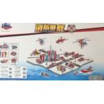 Gao Bo Le 98214 Firefighter 975PCS