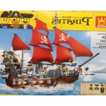 Wange 53041 Pirates Black Beard 1123PCS
